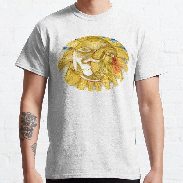 El sol dorado Camiseta clásica