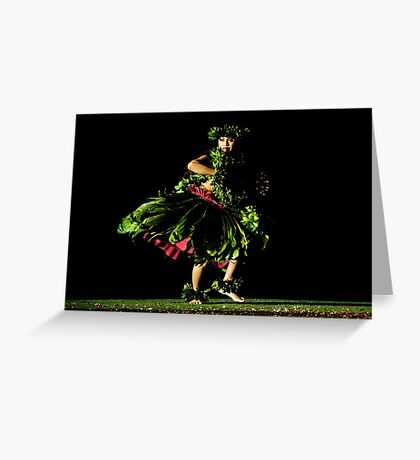 Dancing in the Dark Greeting Card