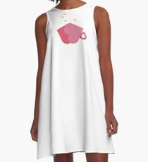 Cup of Love A-Line Dress