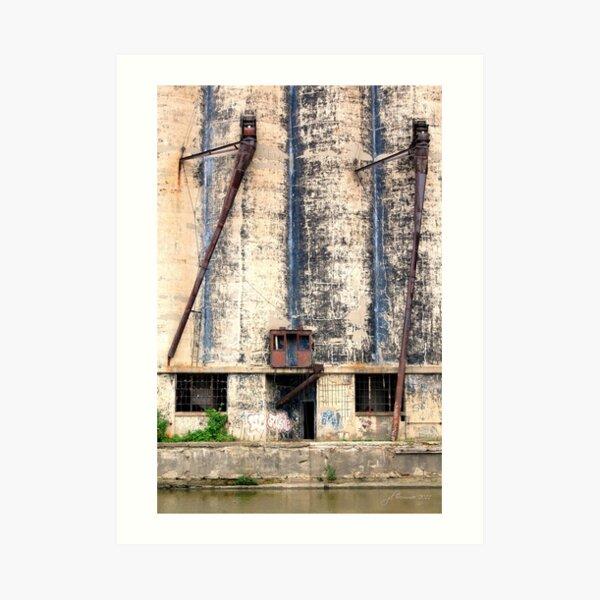 Buffalo's Waterfront Property Art Print