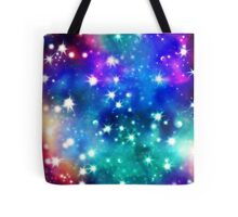 Cosmic Connection, Galaxy, Space, Nebula, Stars, Planet, Universe,  Tote Bag