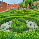 The Royal Gardens at Wawel Castle in Krakow by TalBright