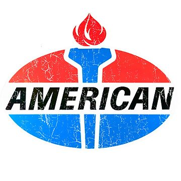American Gasoline (Oval) by Bloxworth