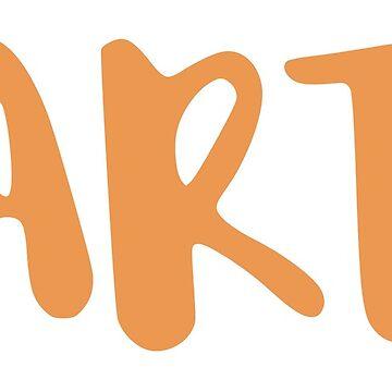 Art - orange by FTML