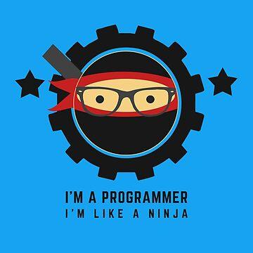 Programmer - I am like a ninja by mbiymbiy