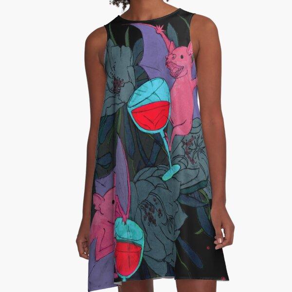 party bats A-Line Dress