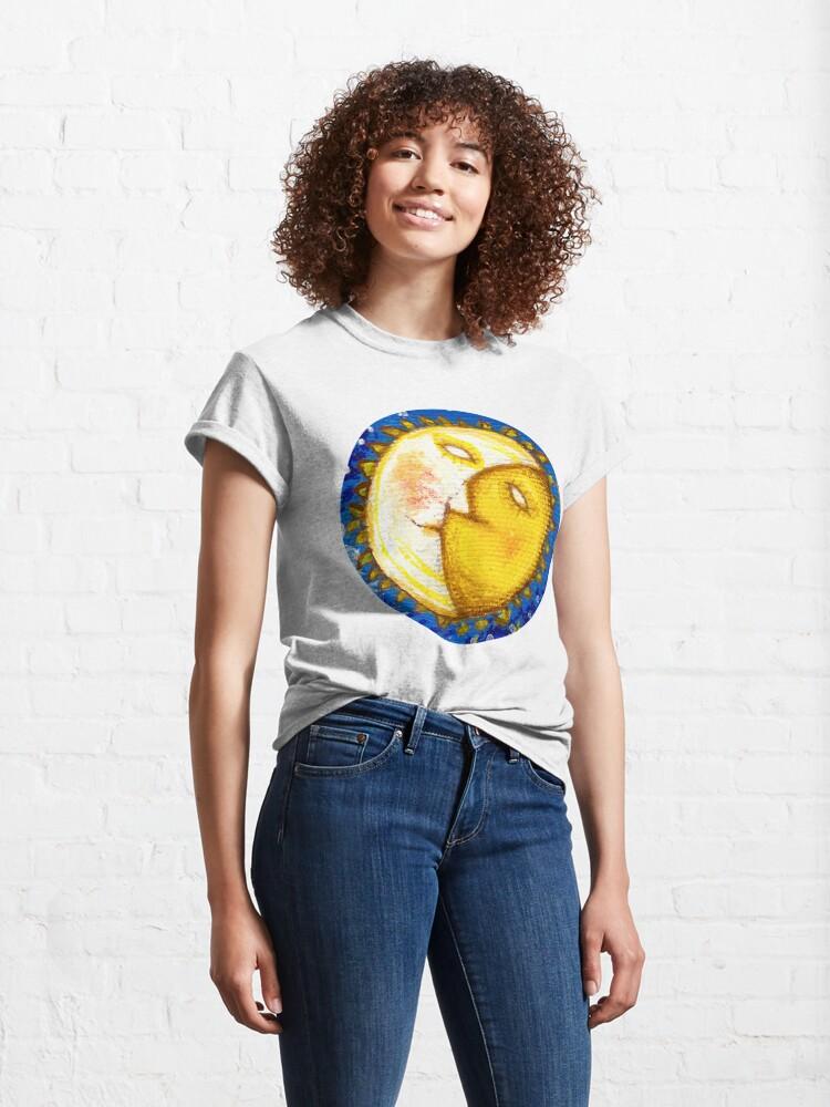 Alternate view of Magic sun Classic T-Shirt