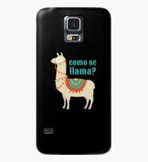 Funda/vinilo para Samsung Galaxy Como Se Llama Regalo Funny Llama Lover Animal