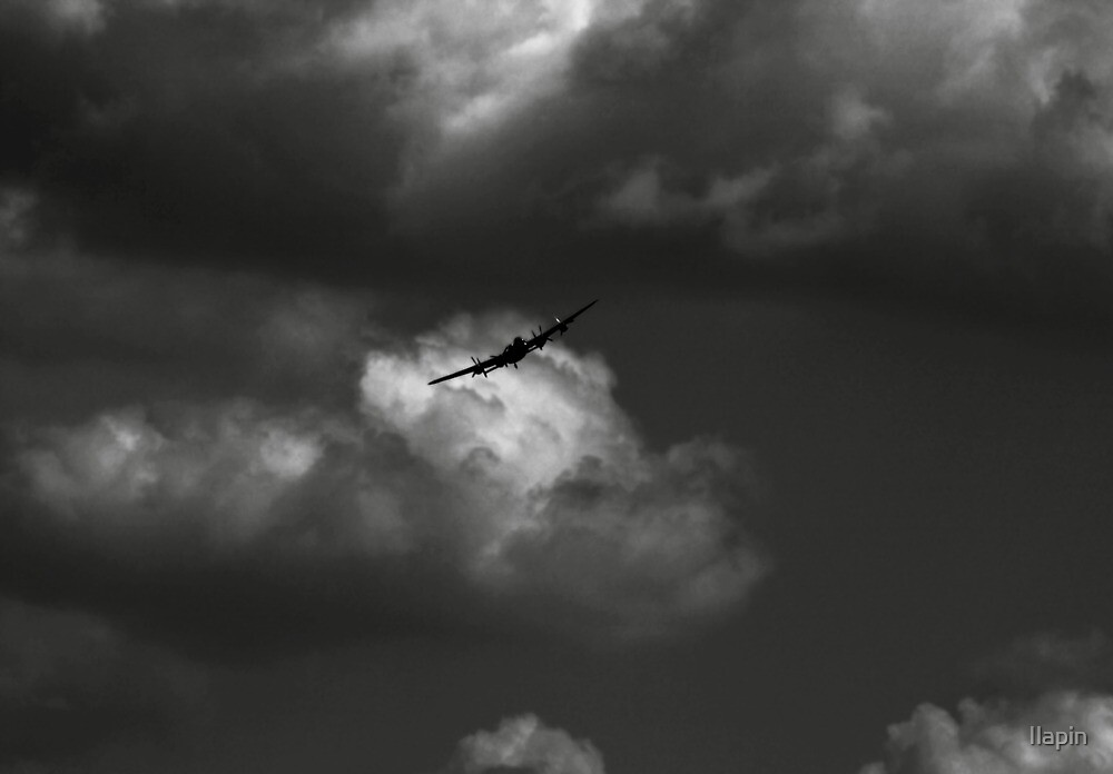 the lancaster bomber by Ilapin