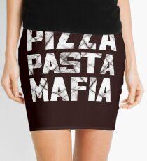 Pizza Pasta Mafia Mini Skirt