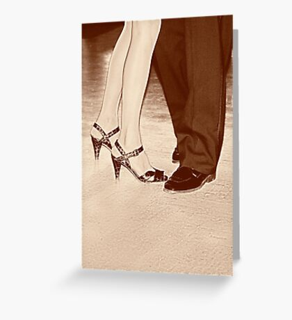 In Step Greeting Card