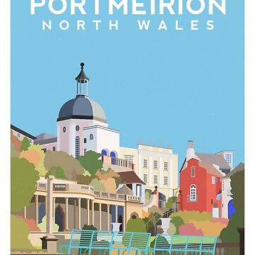 Portmeirion - North Wales by typelab