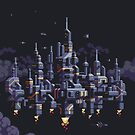 Floating City of 5000 by Slynyrd