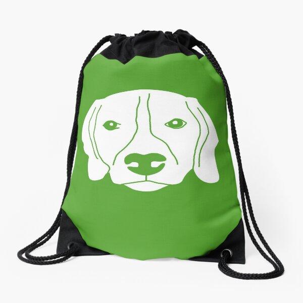 Dog Version 2 Drawstring Bag