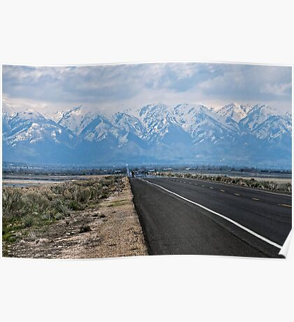 Road To The Mountains Poster