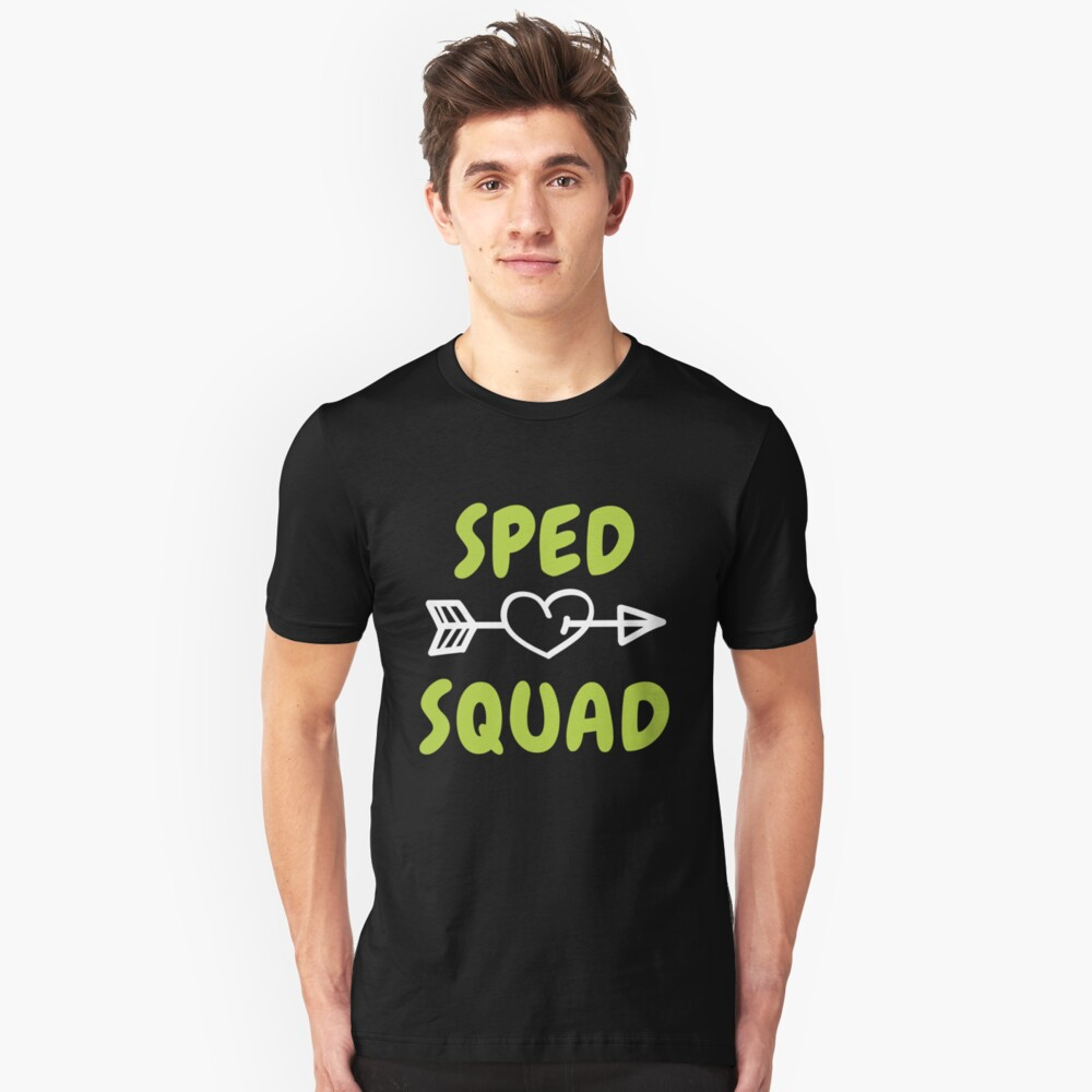 4a9b2ee2f Sped Squad Teacher Gift Special Education Back To School