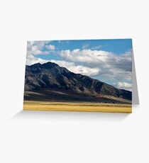 Autumn Landscape in Utah, United States Greeting Card