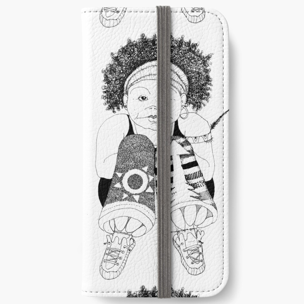 Hip Hop Muse iPhone Wallet
