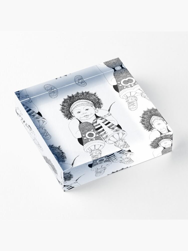 Alternate view of Hip Hop Muse Acrylic Block