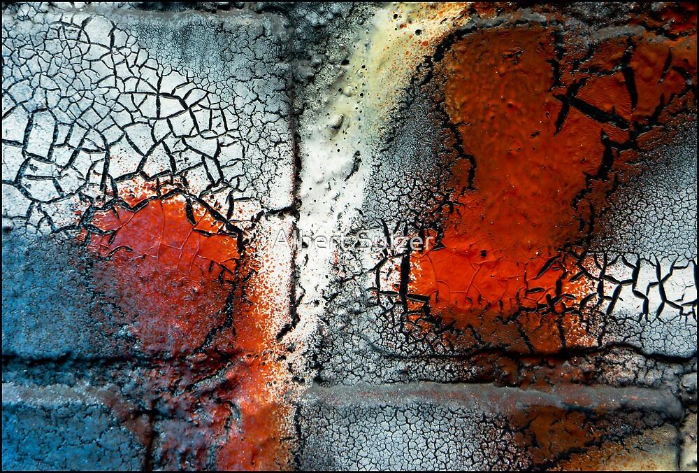 Street Abstract Art 05 by Albert Sulzer