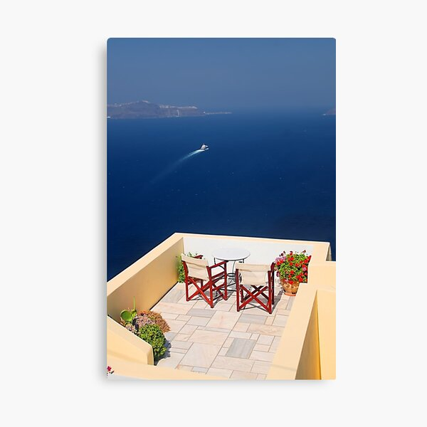 Balcony with a view Canvas Print