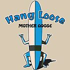 Hang Loose Surfboard Man by Aaron  Kinzer