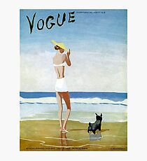 VOGUE : Vintage 1937 Magazine Advertising Print Photographic Print