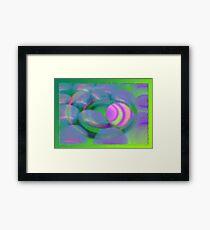 For kids-Funny twirl Framed Print