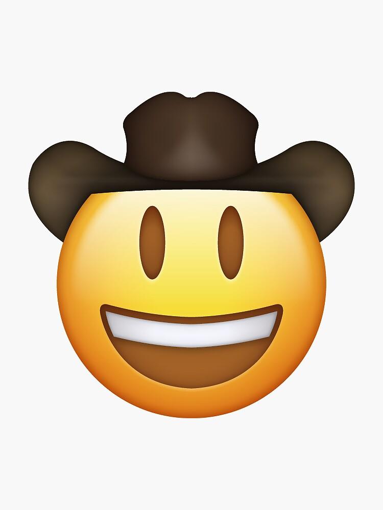 Cowboy Emoji von aleexbee