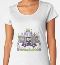 Is This Small World Actually Stretching? Women's Premium T-Shirt