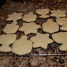 Hanuka Cookies by Deborah Singer