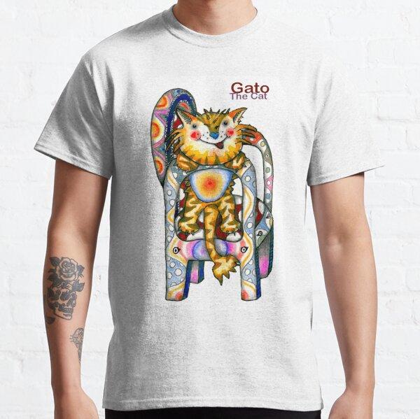 Gato el gato Camiseta clásica