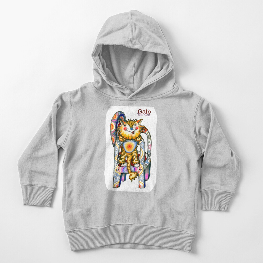 Gato The Cat Toddler Pullover Hoodie