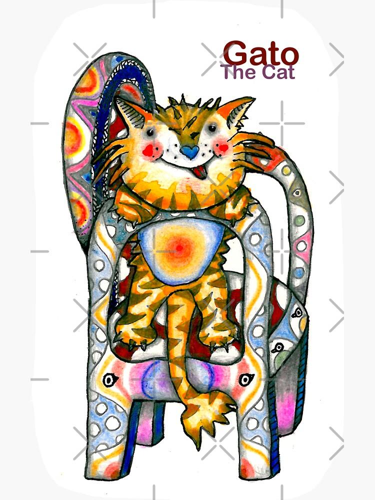 Gato The Cat by aremaarega