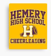 Hemery High School Cheerleading Canvas Print
