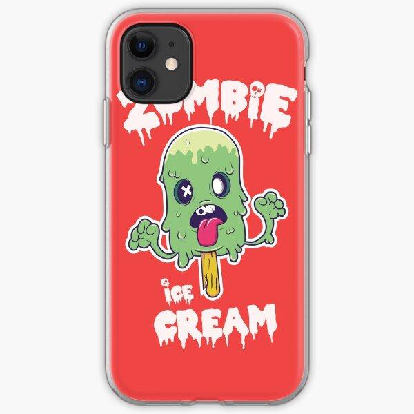 zombie ice cream iPhone Soft Case