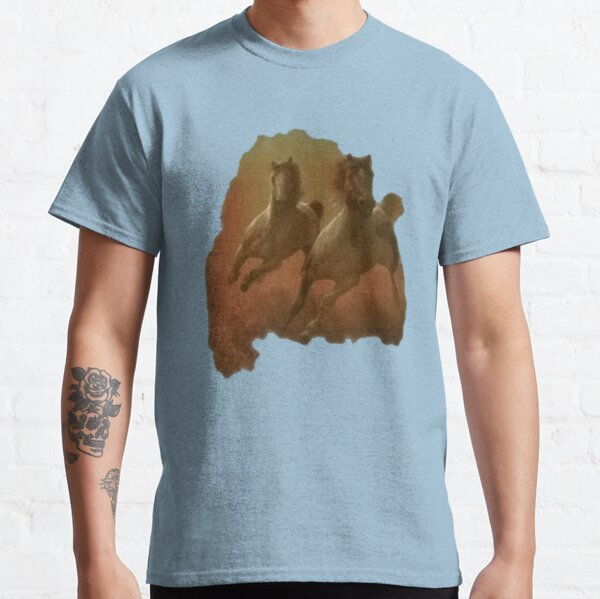Galloping Horses Shirt Classic T-Shirt