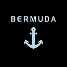 Bermuda Old Anchor for Sailing Dark Color by TinyStarAmerica