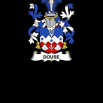 Douse Coat of Arms - Family Crest Shirt by FamilyCrest