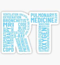 Respiratory Therapist Gift Therapy Pulmonary Practitioner Sticker
