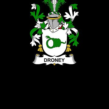 Droney Coat of Arms - Family Crest Shirt by FamilyCrest