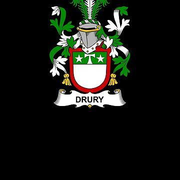 Drury Coat of Arms - Family Crest Shirt by FamilyCrest