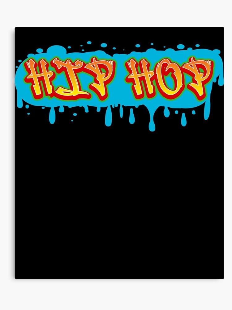 Old School Hip Hop Gift Mix Tape Dj Mixtape | Canvas Print