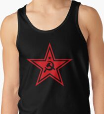 Sowjetisches rotes Sternsymbol Tank Top