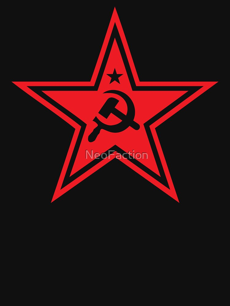 Soviet Red Star Symbol Stickers Tank Top By Neofaction Redbubble