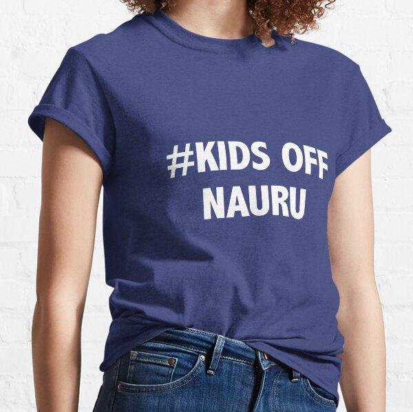 #KIDS OFF NAURU Classic T-Shirt