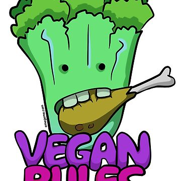 Vegan Rules by raysan