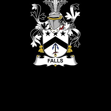 Falls Coat of Arms - Family Crest Shirt by FamilyCrest