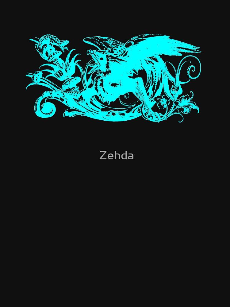 Griffin Gargoyle by Zehda