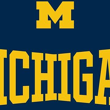 Michigan Athletics Block M by Chocodole